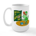 Happy St. Patricks Day Large Mug