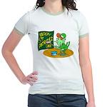 Happy St. Patricks Day Jr. Ringer T-Shirt