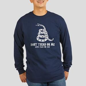 Don't Tread Long Sleeve Dark T-Shirt