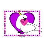 Cockatoo Postcard Valentines (Package of 8)
