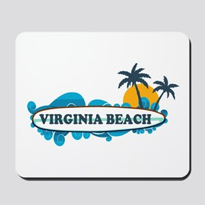 Virginia Beach - Surf Design Mousepad