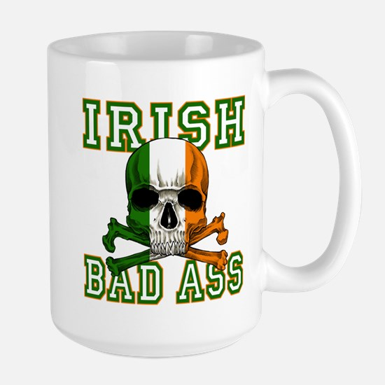 Irish Bad Ass Large Mug