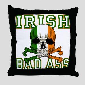 Irish Bad Ass Throw Pillow