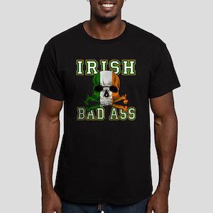 Irish Bad Ass Men's Fitted T-Shirt (dark)