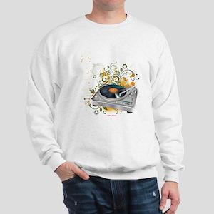 DJ Turntable 3 Sweatshirt