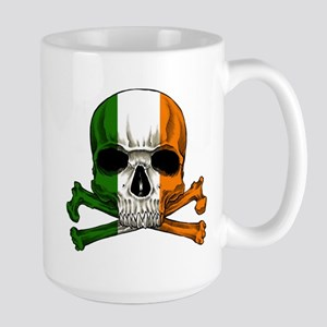 Irish Skull n' Crossbones Large Mug