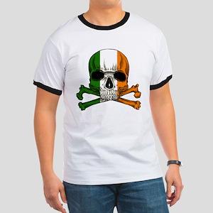 Irish Skull n' Crossbones Ringer T