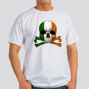 Irish Skull n' Crossbones Light T-Shirt