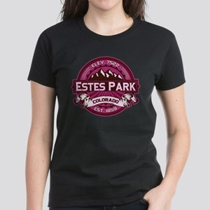 Estes Park Raspberry Women's Dark T-Shirt