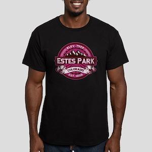 Estes Park Raspberry Men's Fitted T-Shirt (dark)