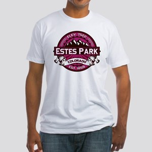 Estes Park Raspberry Fitted T-Shirt