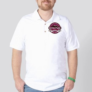 Estes Park Raspberry Golf Shirt