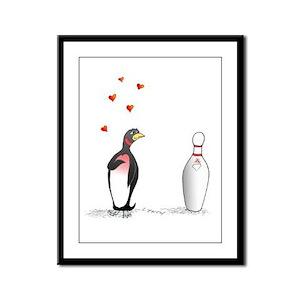 Penguin Framed Panel Print