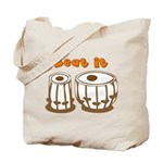Tabla Beat It Tote Bag