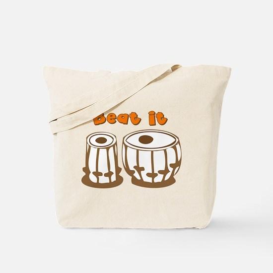 Tabla Beat It Tote Bag