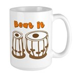 Tabla Beat It Large Mug