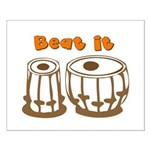 Tabla Beat It Small Poster