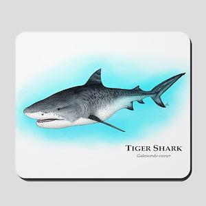 Tiger Shark Mousepad