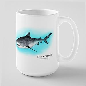 Tiger Shark Large Mug