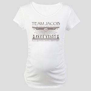 Team Jacob Maternity T-Shirt
