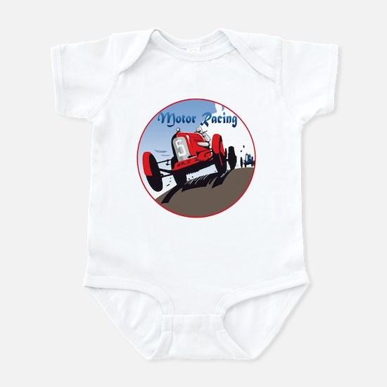 The Motor Racing Infant Bodysuit