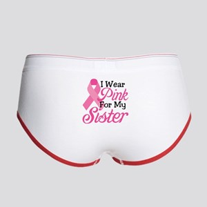 Pink For Sister Women's Boy Brief