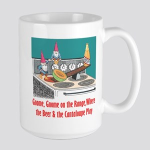 """Gnome on the Range"" Large Mug"