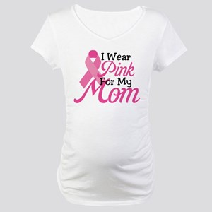 Pink For Mom Maternity T-Shirt