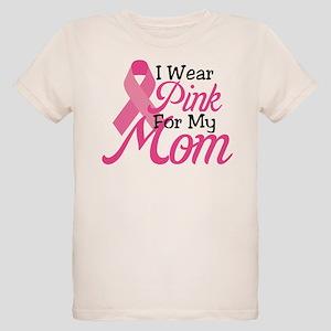 Pink For Mom Organic Kids T-Shirt