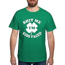Shit Me I'm Kiss Faced Dark T-Shirt