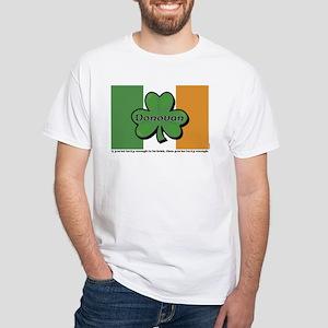 Donovan White T-Shirt