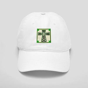 Green Celtic Cross Cap