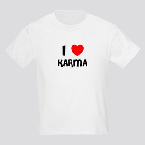 I LOVE KARMA Kids T-Shirt