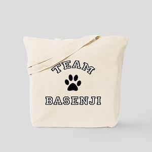 Team Basenji Tote Bag