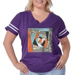 Layered Money Women's Plus Size Football T-Shirt