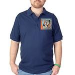 Layered Money Dark Polo Shirt