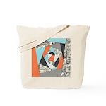 Layered Money Tote Bag