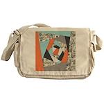 Layered Money Messenger Bag