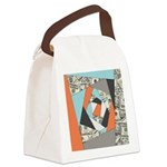 Layered Money Canvas Lunch Bag