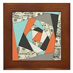 Layered Money Framed Tile