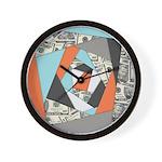 Layered Money Wall Clock