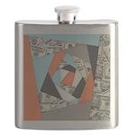 Layered Money Flask