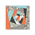 Layered Money Sticker