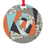 Layered Money Ornament