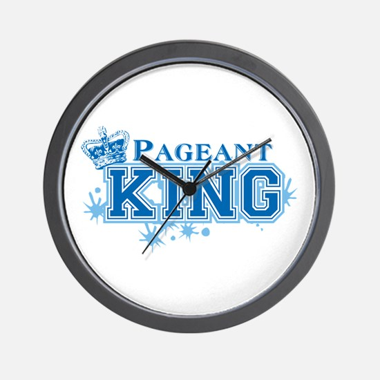 Pageant King Wall Clock