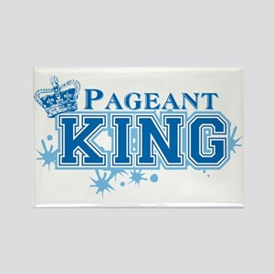 Pageant King Rectangle Magnet