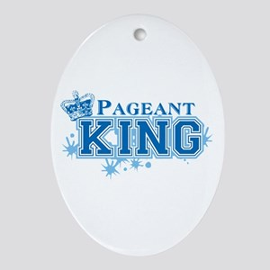 Pageant King Ornament (Oval)