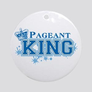 Pageant King Ornament (Round)