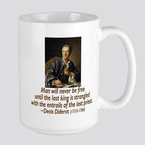No Kings, No Priests Large Mug