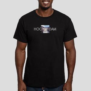 ABH Hoover Dam Men's Fitted T-Shirt (dark)